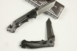SOG Phantom Firebird Small Size survival knife Full blade Hunting Pocket Knife Folding Knives