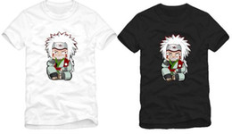 Free shipping new arrival Chinese Size S-XXXL Japanese anime naruto Jiraiya print tee shirt anime T-shirt 100% cotton 6 color