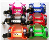 Wholesale 3 Lights Pvc Flashing Wheels Flashing Roller Skate Flashing Roller Street Glider
