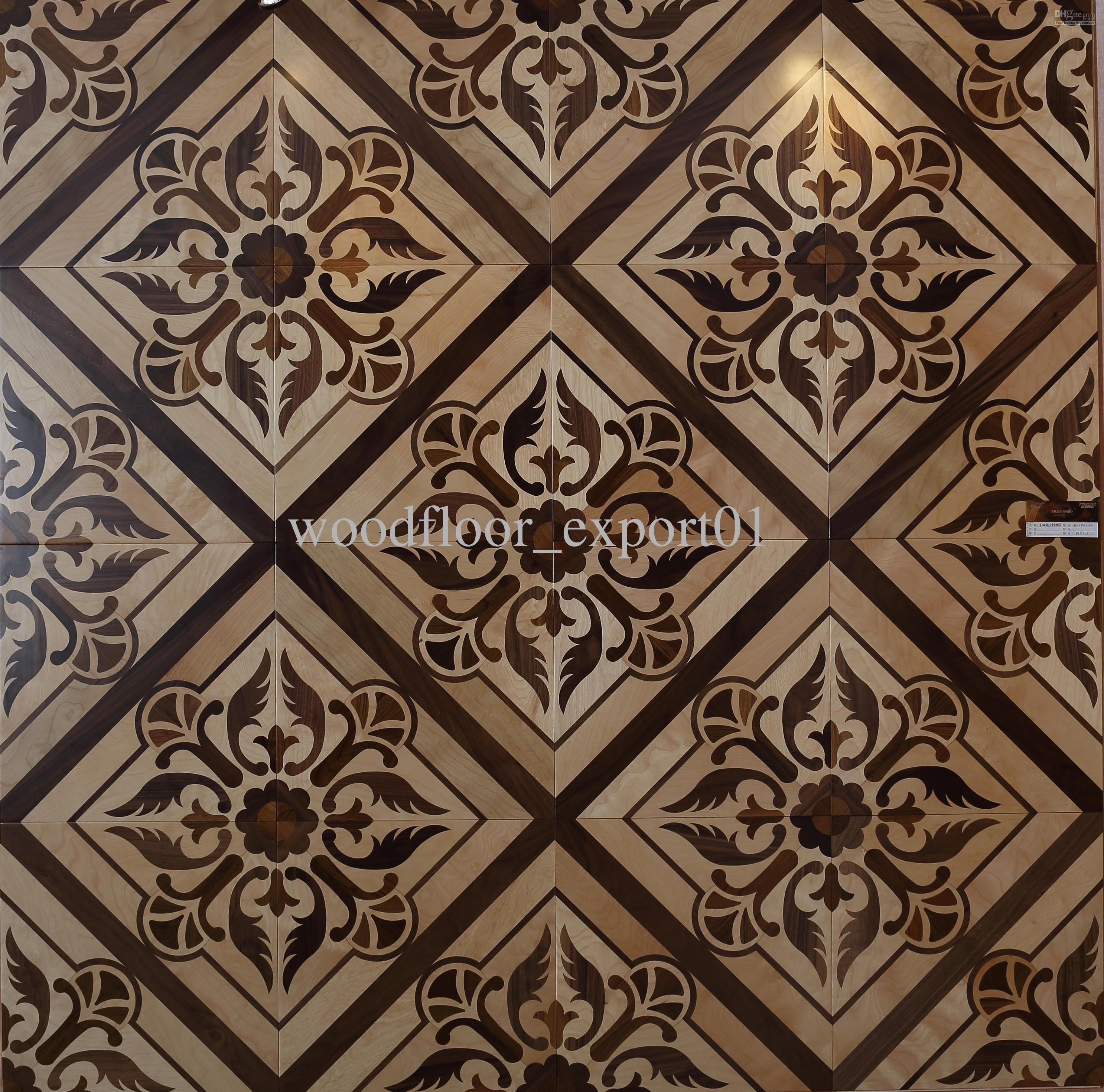 Wood Flooring Parquet Flooring Medallion Wooden Flooring