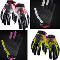 achat en gros de gants dirt bike-Gants Hot Motocross Dirt Moto Vélo Gants vélo vélo jaune noir de haute qualité mélange de commande 5 Yangze