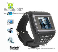 Wholesale ET Single Sim Card Watch Cell Phone Ebook Reader FM MP3 MP4 Quad Band Unlocked Mobile Phone DHL Fedex