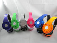 Wholesale 3pcs HOT selling for DJ Headphones Colorful Blue Purple Orange Green Silver Pink headsets