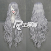 Boy Long  Popular New Cos Heat Resistant Silver Gary Cosplay Party Wig