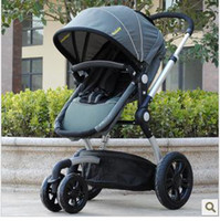 Wholesale Three wheeled stroller umbrella car sleeping basket wellbaby high landscape aluminium alloy shock ab