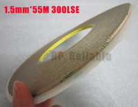 Cheap 1x 1.5mm*55M*0.17mm 3M 9495LE 300LSE Clear Double Coated Tape for iphone 4s 5 Frame Panel Screen LCD