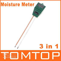 Wholesale 5pcs in Garden Light Luxmeter amp PH Meter Soil Moisture Tester H1970