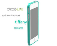 Ultrathin 0. 7mm Luxury Aluminum Metal Bumper case for iphone...