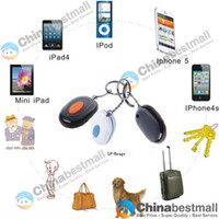 Wholesale Ble Smart bluetooth Alarm keychain Anti lost Alarm Device for iphone S iPad Mini iPod Pet Child