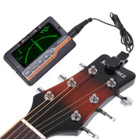 Wholesale Flanger in LCD Display Violin Guitar Metronome Tone Generator Tuner I90 MYY4268