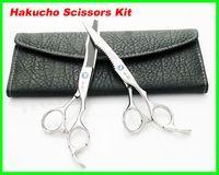 Wholesale 15 set Hair Scissors kid Hakucho Cutting Thinning Scissors Hairdressing Scissors INCH JP440C