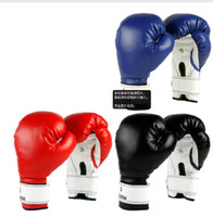 Wholesale 3COLOR Top quality New MMA Boxing Gloves Sanda Muay Thai Training Fighting Mitts gt bLACK RED BLUE