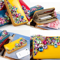 Wholesale Newest Hand Mosaic Crystal Acrylic Diamond Beads Clutch Purse Bag for Bride