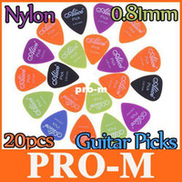 Wholesale 5 sets Alice x mm Smooth Nylon Guitar Picks Plectrums I27