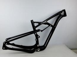 Wholesale 200 shock Suspension mountain bike bicycle frame OEM er Carbon fiber carbon Suspension MTB frame