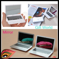 Wholesale 2013 new best gift Apple Computer Mirror hot selling Promotional Gifts Home Decor gift world XMAS