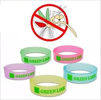 Mosquitoes Mosquito Repellent Bracelet  Eco Friendly Free Shipping New 5 pcs lot 5 Colors Adjustable Luminous Insect Mosquito Repellent Bracelet Strap