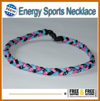 Wholesale New arrival regular colors rope Tornado energy Necklaces bracelet
