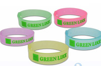 Mosquitoes Mosquito Repellent Bracelet  Eco Friendly New 30Pcs lot Adjustable Luminous Insect Mosquito Repellent Strap Bracelet 5 Color Drop Shipping