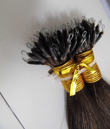 Wholesale 100g inch inch REMY NANO RINGS hair extensions Indian human hair AAA