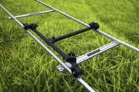 Caméra 6m Video Dolly piste Rail pour Jib Tripod Tracking Curseur