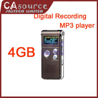 Wholesale Digital Voice Recorder Dictaphone LCD display Mp3 Player storage DVR Recording Pen Mobile Phone Disc