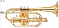 Wholesale world famous Musical Instruments Brass Woodwinds Bb Cornet