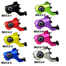 Wholesale professional BiShop Style New Rotary Tattoo Machine Gun Shader with color M653