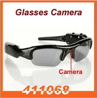Wholesale DV DVR Hidden Recorder Video Camera spy Sunglasses Camera sun glasses camera Mobile Eyewear