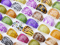 Wholesale Mixed Resin Lucite Rings Finger Ring Fashion Jewelry LR19