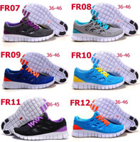 Wholesale free Run Running Shoes Athletic Shoes Sneakers For Men And Women with logo and shoes box