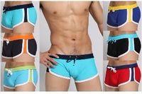 Wholesale Cool Mens Sexy Boxes Swim Trunks Shorts Swimwear Swimming Man Pants