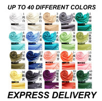 Wholesale 50pieces Fashion Women s Scarf Wrap Shawl Scarves Tassels Colors