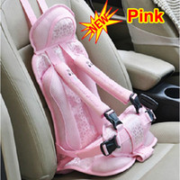 Wholesale Portable Baby Kid Auto Car Safety Safe Security Secure Booster Seat Cover Harness Cushion Belt Strap