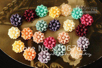 Yes For Apple Universal BW-SZ-13 supernova sales Free shipping CHEAP 14mm 16 Colors Resin Flower for Jewelry  Mobile Phone DIY Handma