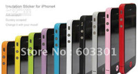 Yes iphone bumper sticker - Side Bumper Insulation Sticker for iPhone S accept mix color color sticker for iPhon