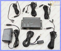 Wholesale IR Repeater System Kit Hidden Infrared Remote Extender Emitters Receiver and retail
