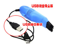Cleaning Brush Keyboard  Free shipping!wholesale Mini USB vacuum cleaner,dust collector, dust catcher,computer cleaner