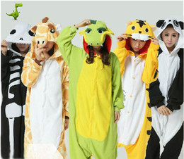 Wholesale 2013 Adult Pajamas All In One Pyjamas Animal Cosplay Costumes Suits