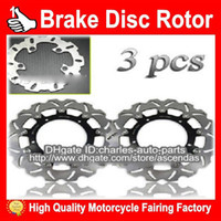 Wholesale 100 NEW Front Rear Brake Disc Rotor for Yamaha YZF R6 YZF R6 YZFR6 Motorcycle