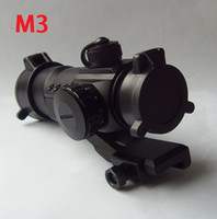 Wholesale Red Green Laser Dot Sight Air Rifle Shotgun Tactical Scope Riflescopes Collimator Black M3 series