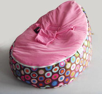 Wholesale fileed baby bean bag baby seats baby chair baby bean bag with filling