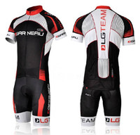Wholesale 2012 cycling jersey LGTEAM short sleeve and cycling bib short GAR NEAU cycling clothing Kit