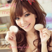 Cotton Normal 5/8 Cup The sexy underwear essential silicone invisible bra nipple Stickers milk stickers reusable preventio