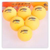 Wholesale 120 DHS star ITTF Table Tennis balls Ping Pong Balls orange