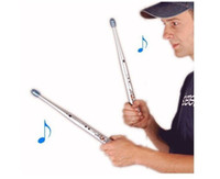 Metal air drum set - one set Rhythm Sticks Electronic Drum Sticks Air drumstick Novelty toy personal Gift