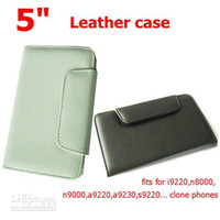 Silicone For Samsung i9220 5 inch leather case for note phone i9220,N8000,N9000,A9220,A9230..... 5 inch phone, whoesale with hi