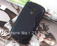 Silicone For Samsung CAS-SX207 S Line Case for Samsung Galaxy SIII Mini i8190, TPU Gel Case for Samsung Galaxy SIII Mini i8190 20pc
