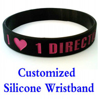 Charm Bracelets printed silicone bracelet - Factory Customized Silicone Wristband Silica gel Bracelets carved Print custom bracelet customised wristband Minimum Order