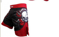 Wholesale Hot Veunm Piarte O BL00DY RED Fight Fighters Fight short breeche Fedor ClinchTUF gt luyt